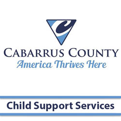 Cabarrus County Child Support Services NC